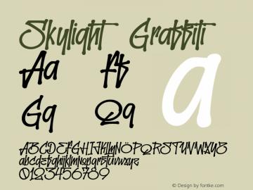 Skylight Graffiti 001.000图片样张