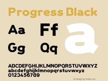 Progress Black Macromedia Fontographer 4.1.5 5/21/04图片样张