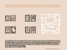 DfStainedGlassITC Regular Macromedia Fontographer 4.1 2/7/01 Font Sample