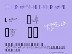 WW1 Planes Regular 1.0 - 02-10-97 Font Sample