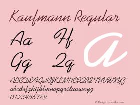 Kaufmann 001.000图片样张
