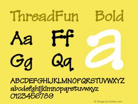 ThreadFun-Bold 001.000图片样张