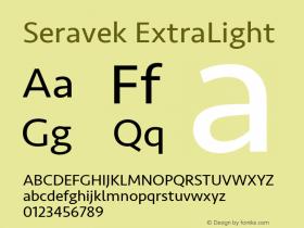 Seravek ExtraLight 13.0d3e2图片样张