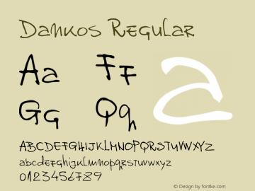 Dankos Version 1.000 2012 initial release图片样张
