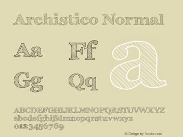 Archistico Normal Version 1.0图片样张