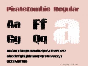 PirateZombie Version 1.00 June 17, 2013, initial release图片样张