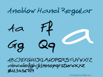 AndNow Hand Version 1.000图片样张