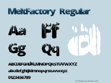 MeltFactory Version 1.00 June 17, 2013, initial release图片样张
