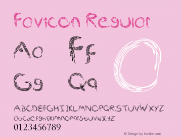 Favicon Version 1.00 May 21, 2013, initial release图片样张