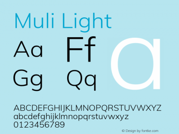 Muli Light Version 2.000图片样张