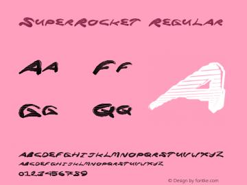 SuperRocket Version 1.00 June 17, 2013, initial release图片样张
