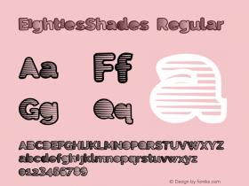EightiesShades Version 1.00 June 17, 2013, initial release图片样张