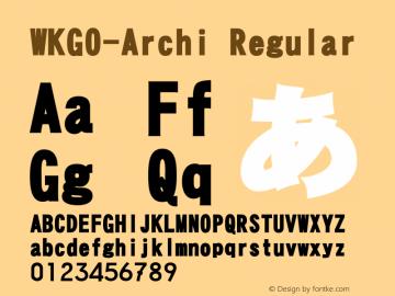 WKGO-Archi V3.0图片样张