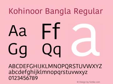 Kohinoor Bangla 13.0d2e1图片样张