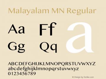 Malayalam MN 13.0d2e3图片样张