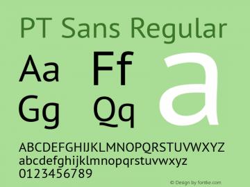 PT Sans 13.0d3e2图片样张