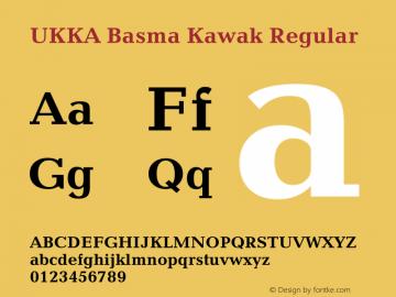 UKKA Basma Kawak Version 4.00 June 3, 2006图片样张