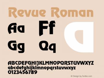 Revue Version 1.00图片样张