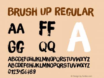 Brush Up Version 001.000图片样张