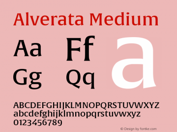 AlverataMd Version 1.001图片样张