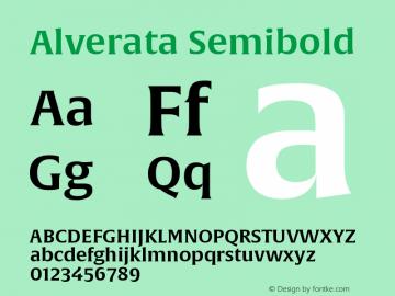 AlverataSb Version 1.001图片样张
