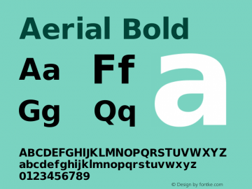 Aerial Bold Release 2.02图片样张