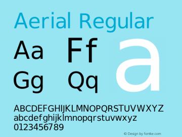 Aerial Regular Release 2.02图片样张