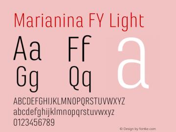 Marianina FY Light Version 1.000图片样张