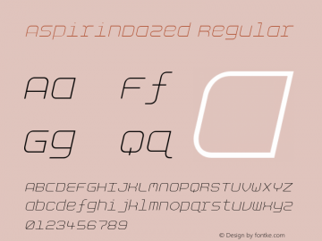 AspirinDazed W00 Regular Version 4.10图片样张
