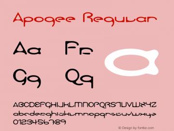 Apogee W00 Regular Version 4.10图片样张