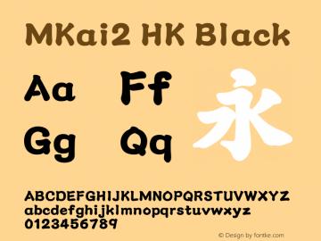 MKai2 HK Black 图片样张
