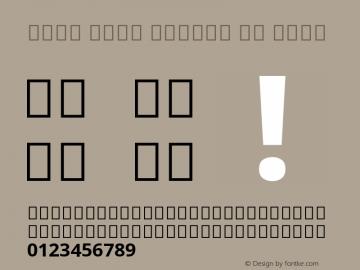 Noto Sans Arabic UI Bold Version 2.000;GOOG;noto-source:20170915:90ef993387c0; ttfautohint (v1.7)图片样张