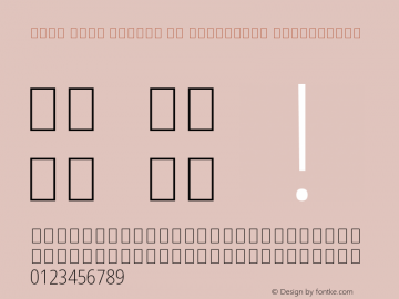 Noto Sans Arabic UI Condensed ExtraLight Version 2.000;GOOG;noto-source:20170915:90ef993387c0 Font Sample
