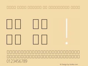 Noto Sans Arabic UI Condensed Thin Version 2.000;GOOG;noto-source:20170915:90ef993387c0; ttfautohint (v1.7)图片样张