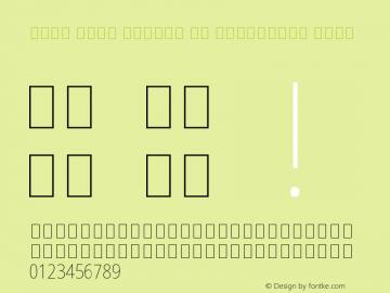 Noto Sans Arabic UI Condensed Thin Version 2.000;GOOG;noto-source:20170915:90ef993387c0图片样张