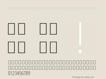 Noto Sans Arabic UI ExtraCondensed ExtraLight Version 2.000;GOOG;noto-source:20170915:90ef993387c0 Font Sample
