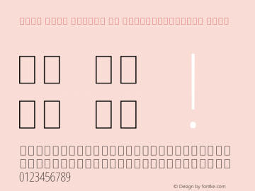 Noto Sans Arabic UI ExtraCondensed Thin Version 2.000;GOOG;noto-source:20170915:90ef993387c0; ttfautohint (v1.7)图片样张