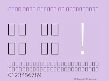 Noto Sans Arabic UI ExtraLight Version 2.000;GOOG;noto-source:20170915:90ef993387c0图片样张