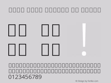 Noto Sans Arabic UI Light Version 2.000;GOOG;noto-source:20170915:90ef993387c0图片样张