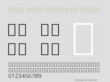 Noto Sans Arabic UI Light Version 2.000;GOOG;noto-source:20170915:90ef993387c0; ttfautohint (v1.7)图片样张
