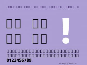 Noto Sans Arabic UI SemiCondensed ExtraBold Version 2.000;GOOG;noto-source:20170915:90ef993387c0图片样张