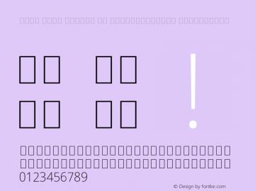 Noto Sans Arabic UI SemiCondensed ExtraLight Version 2.000;GOOG;noto-source:20170915:90ef993387c0图片样张