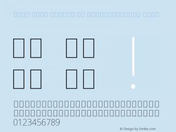 Noto Sans Arabic UI SemiCondensed Thin Version 2.000;GOOG;noto-source:20170915:90ef993387c0; ttfautohint (v1.7) Font Sample