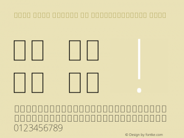 Noto Sans Arabic UI SemiCondensed Thin Version 2.000;GOOG;noto-source:20170915:90ef993387c0图片样张