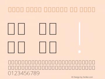 Noto Sans Arabic UI Thin Version 2.000;GOOG;noto-source:20170915:90ef993387c0; ttfautohint (v1.7)图片样张