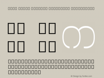 Noto Serif Myanmar Condensed ExtraLight Version 2.000;GOOG;noto-source:20170915:90ef993387c0; ttfautohint (v1.7)图片样张
