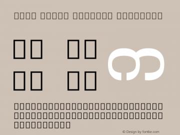 Noto Serif Myanmar SemiBold Version 2.000;GOOG;noto-source:20170915:90ef993387c0图片样张