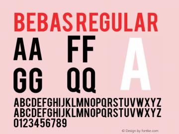 Bebas Version 1.001图片样张
