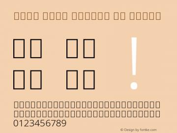 Noto Sans Arabic UI Light Version 2.000图片样张