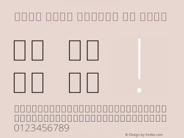Noto Sans Arabic UI Thin Version 2.000图片样张